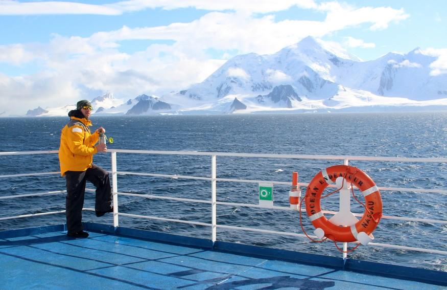 Ocean Endeavor Deck