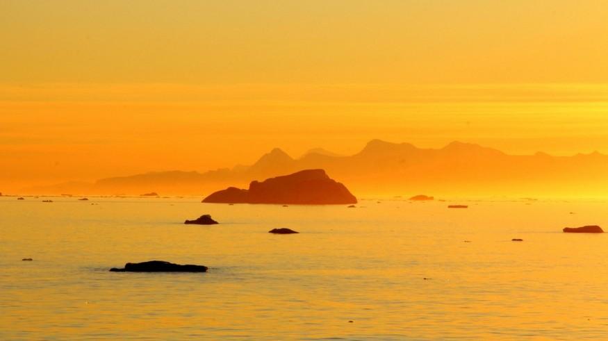 Anarctica sunset