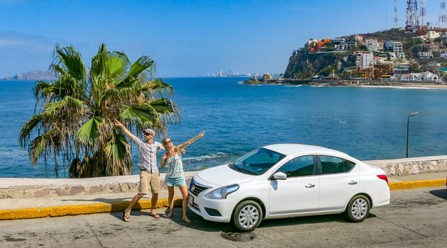 Renting a car in Mazatlan