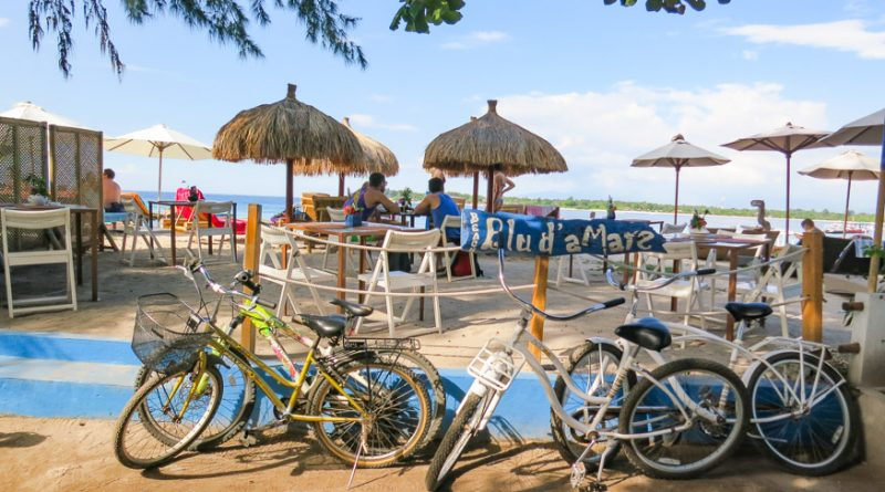 Renting Bikes at Gili T Indonesia