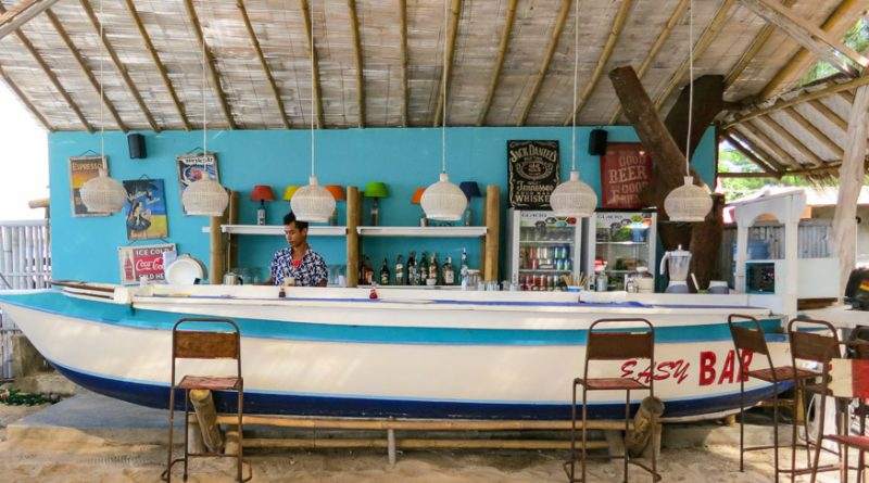 The Boat Bar at Gili T