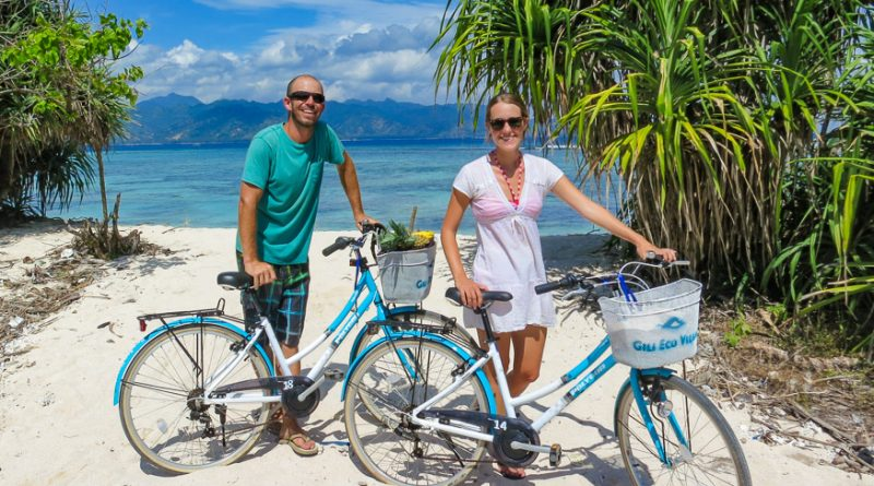 Bike Riding Gili T