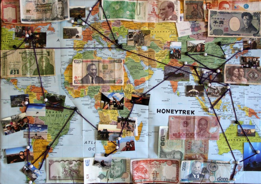 HoneyTrek countries
