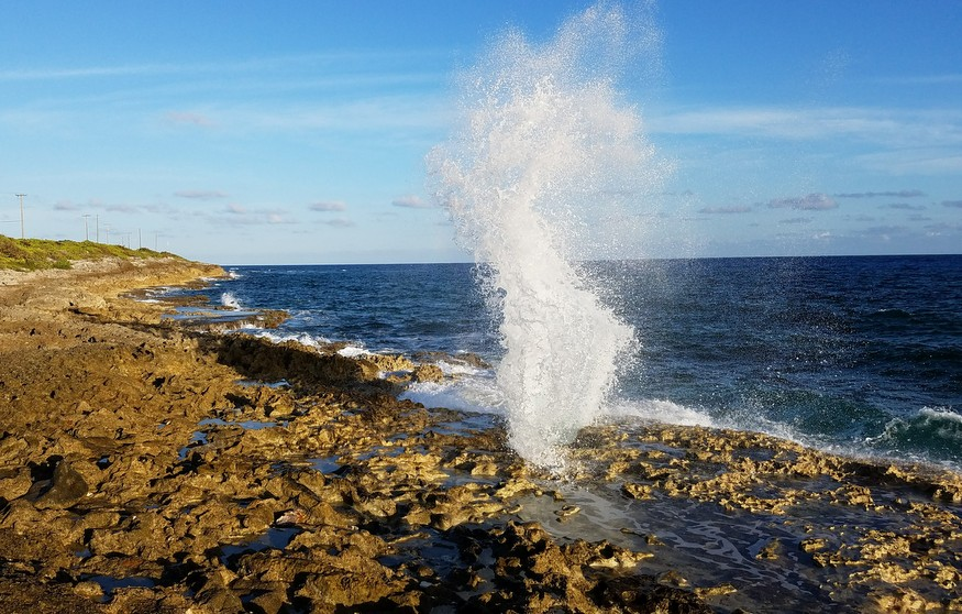 The Blowholes Grand Cayman