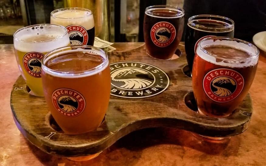 Oregon beer tasting