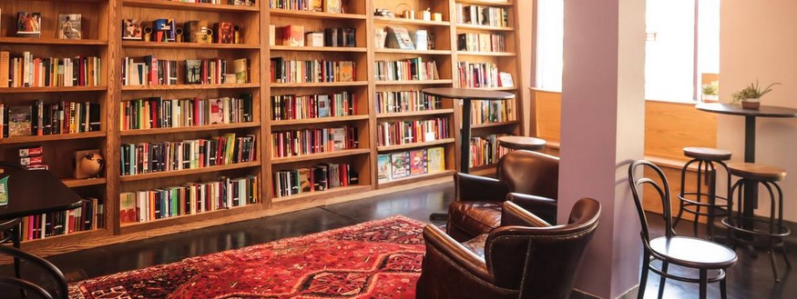 Booksmith's new event space