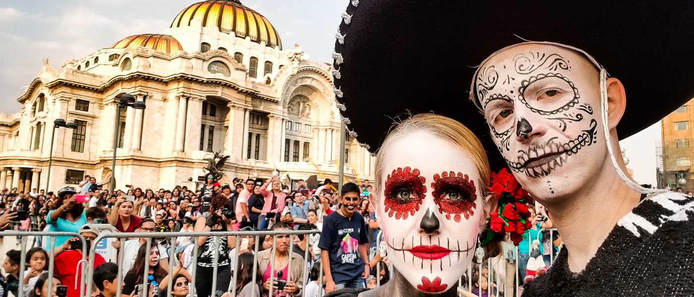 Celebrating Day of the Dead in Mexico
