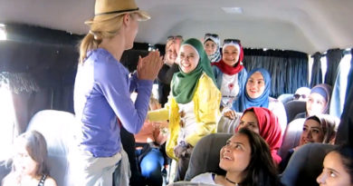 Hitchhiking on a Party Bus in Jordan