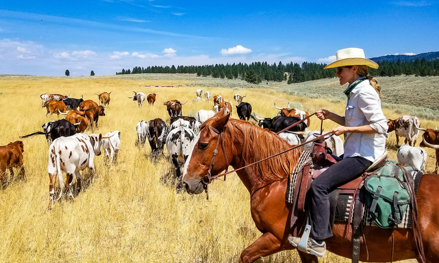 Getting Wild West in Montana
