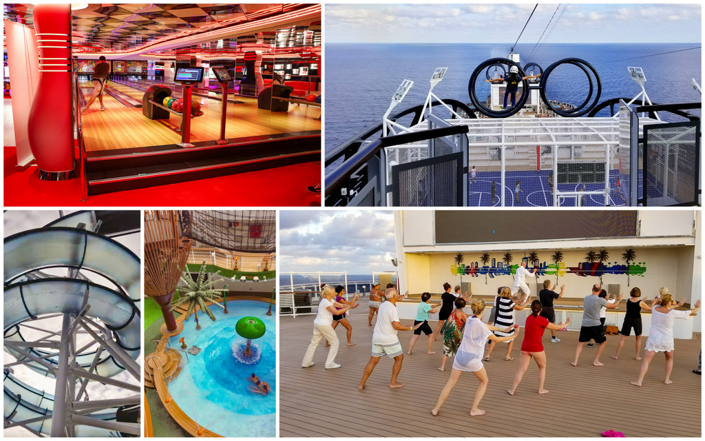 Activities on the MSC Seaside