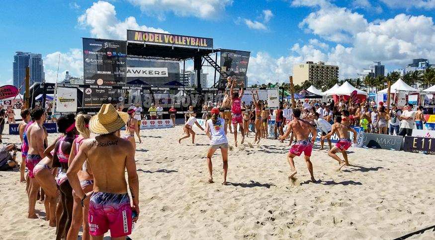 Model Volleyball Miami tournament
