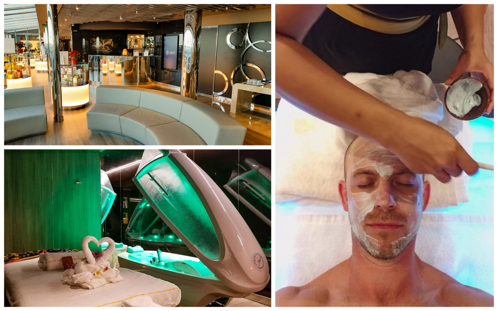 How are the spas on MSC cruises