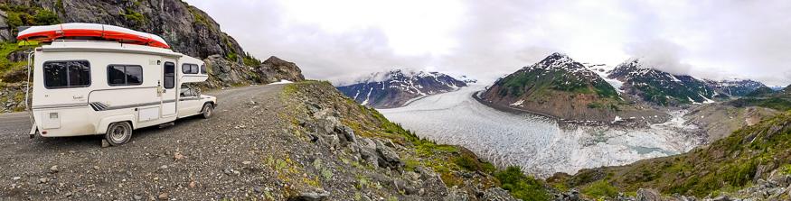 Access Road Salmon Glacier BC
