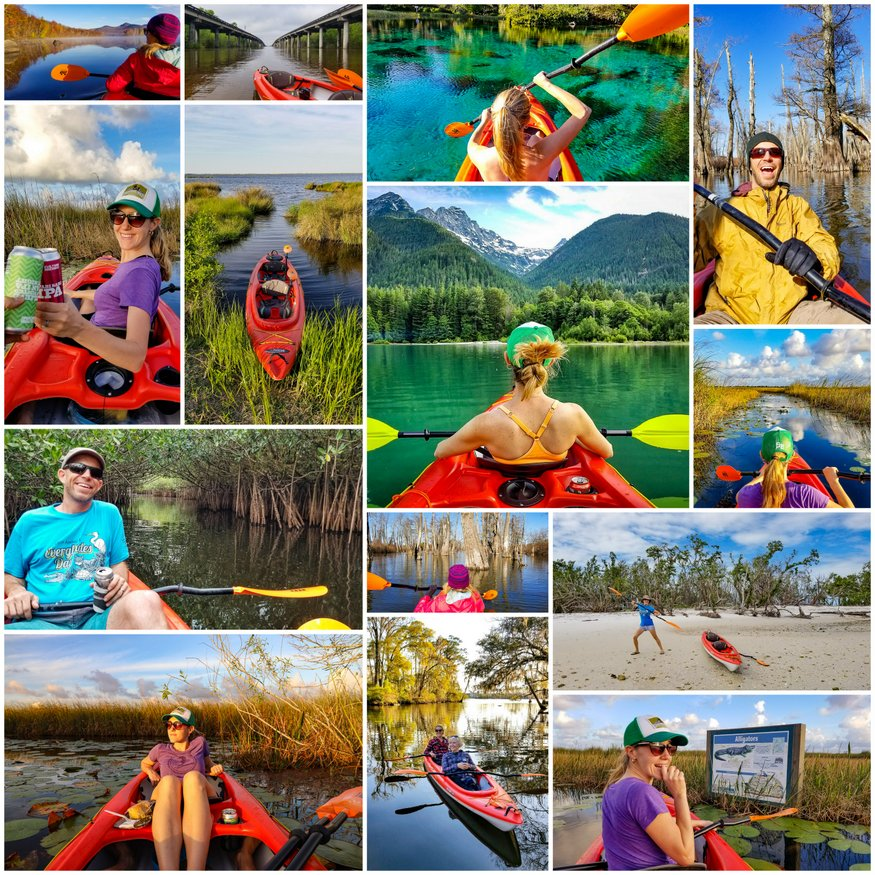 kayaking north america