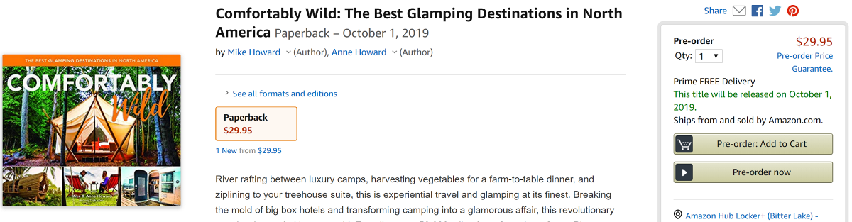 The Glamping Book