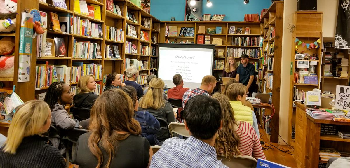 HoneyTrek Book Event Ultimate Journeys for Two