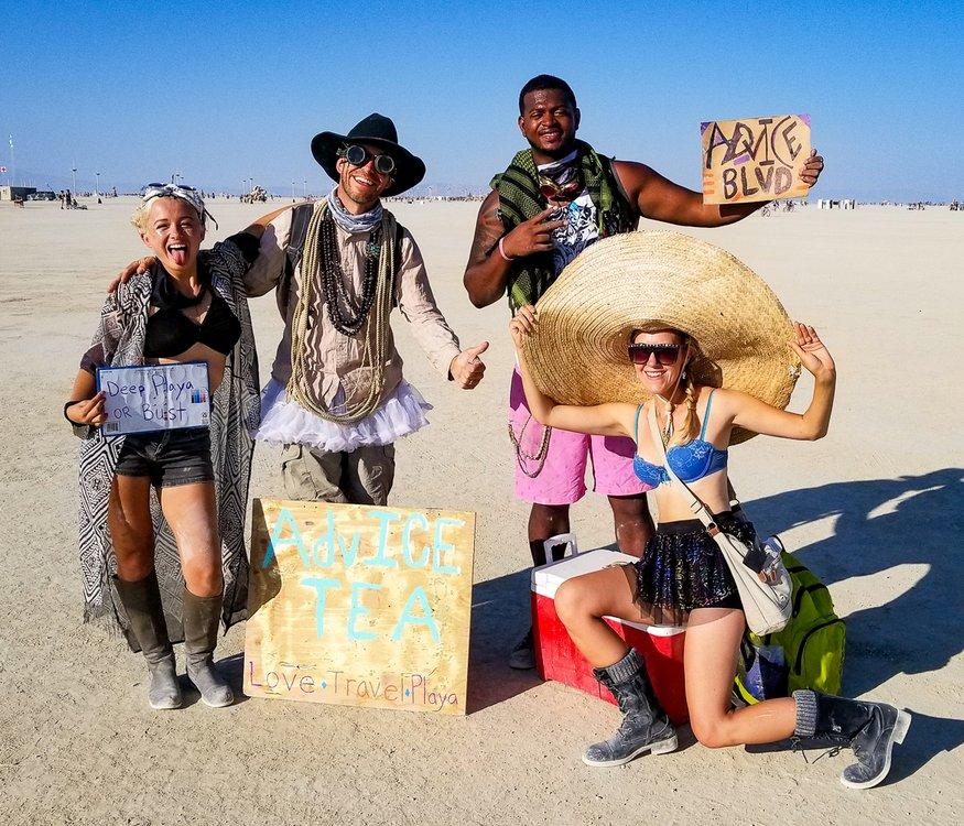 Burning Man Gifting