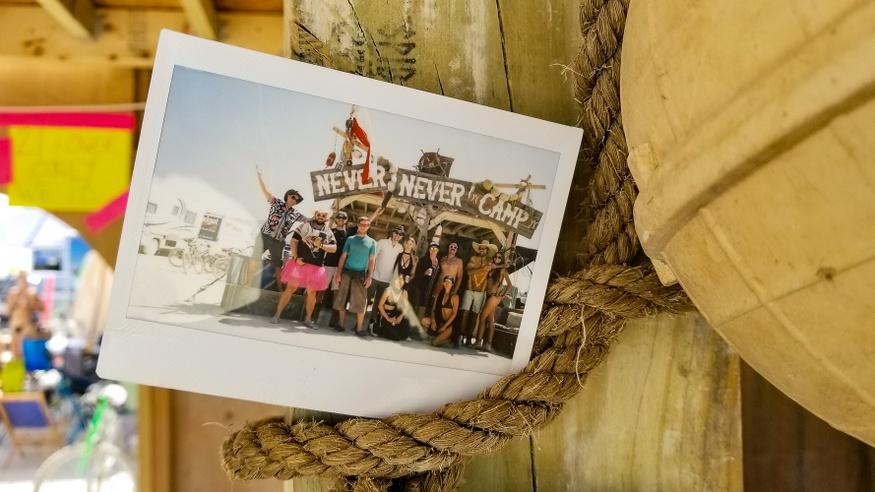 Burning Man Virgin experience