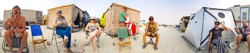Burning Man crew
