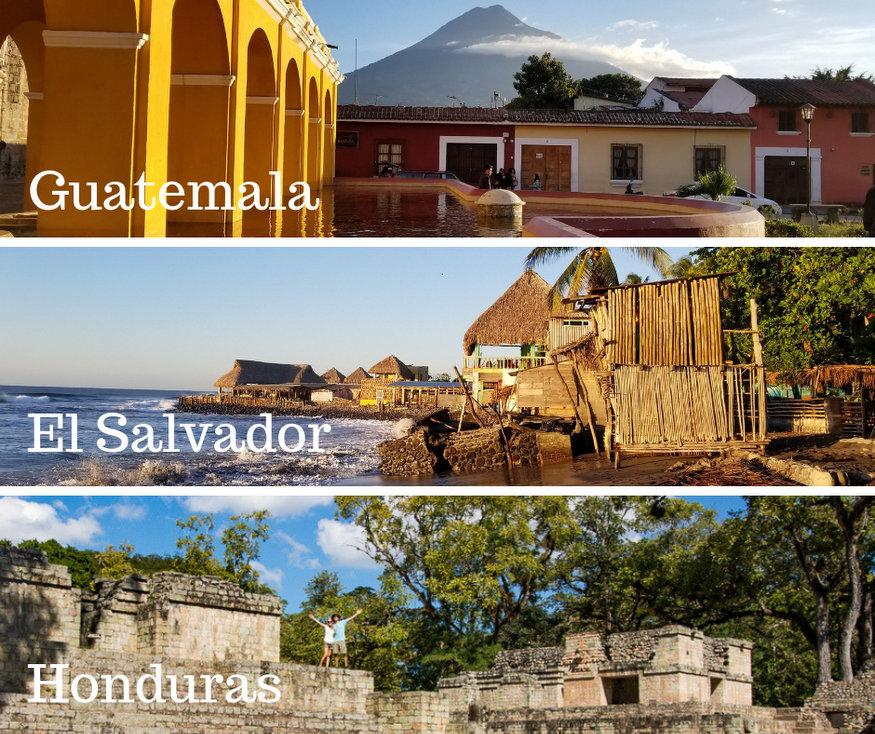 El Salvador Honduras Road Trip