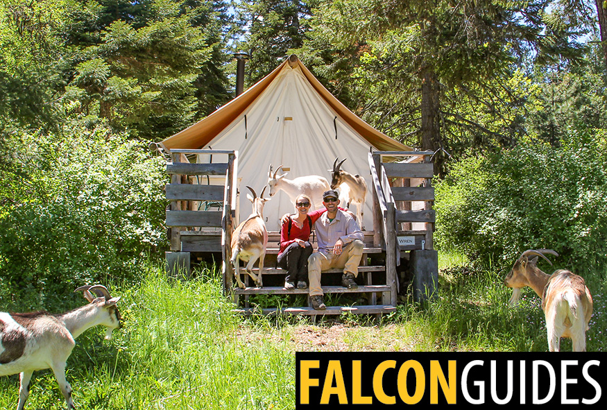 Falcon Guides Glamping book