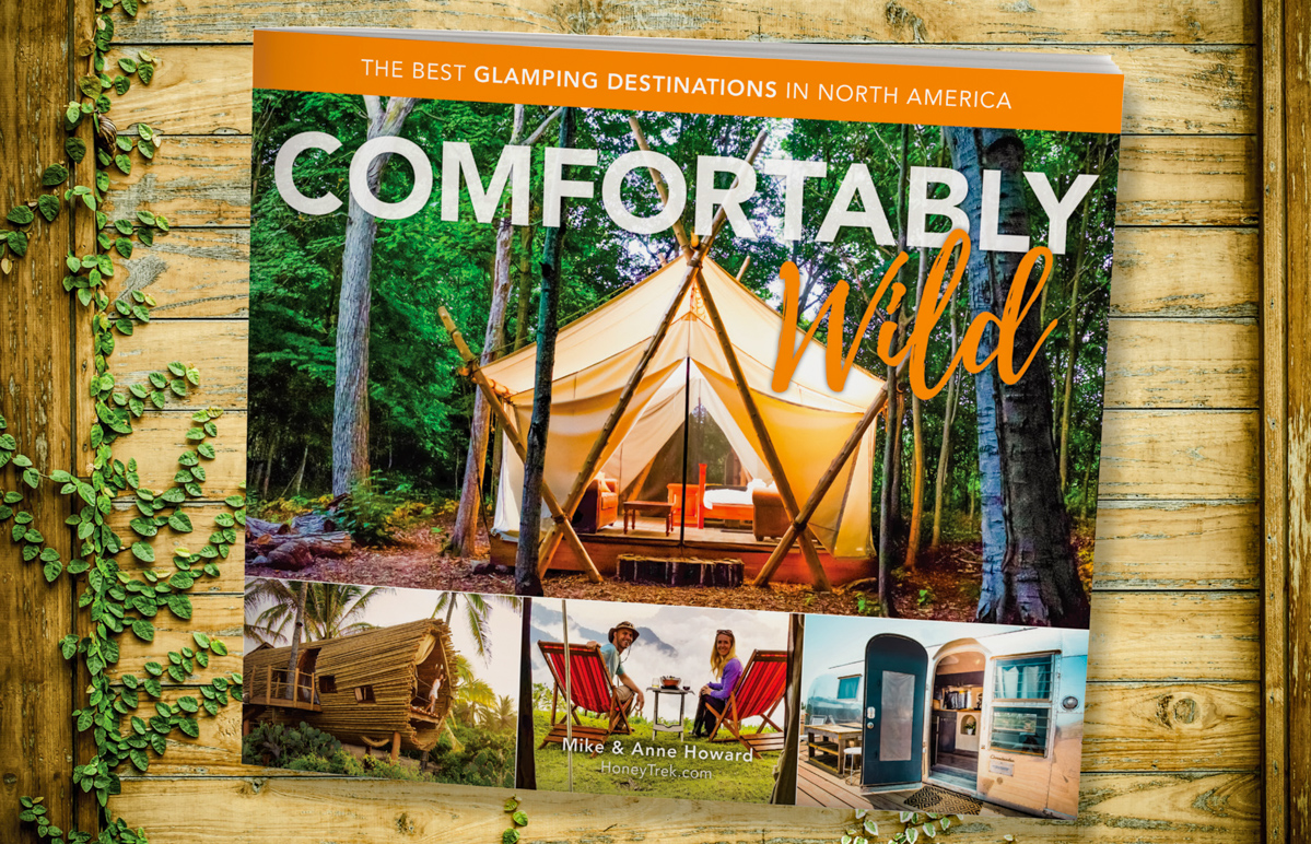 Comfortably Wild Glamping Book