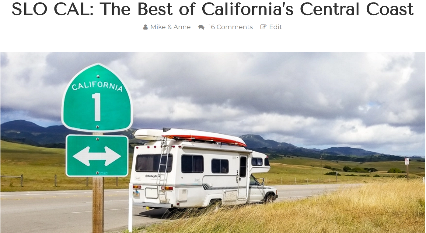SLO County California Influencer