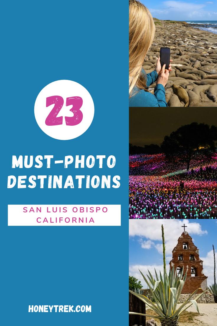SLO CAL's Must Photo Destinations