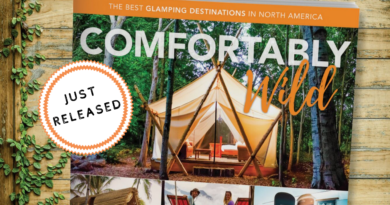 Comfortably Wild: Our Glamping Book!