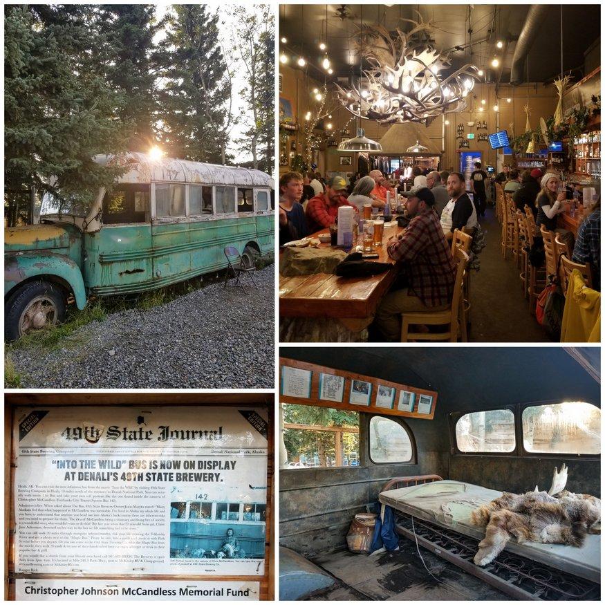 Into the Wild Memorial Healy Alaska