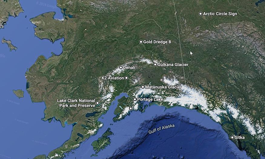 Alaska Road Trip-Top 12 Adventures