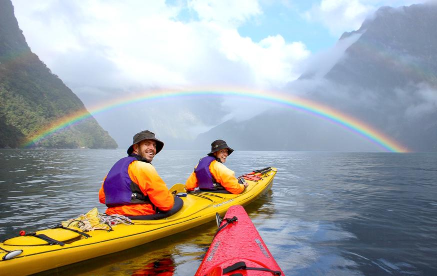 Milford Sound kayaking