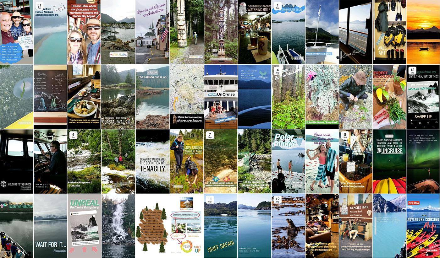 UnCruise Instagram Stories