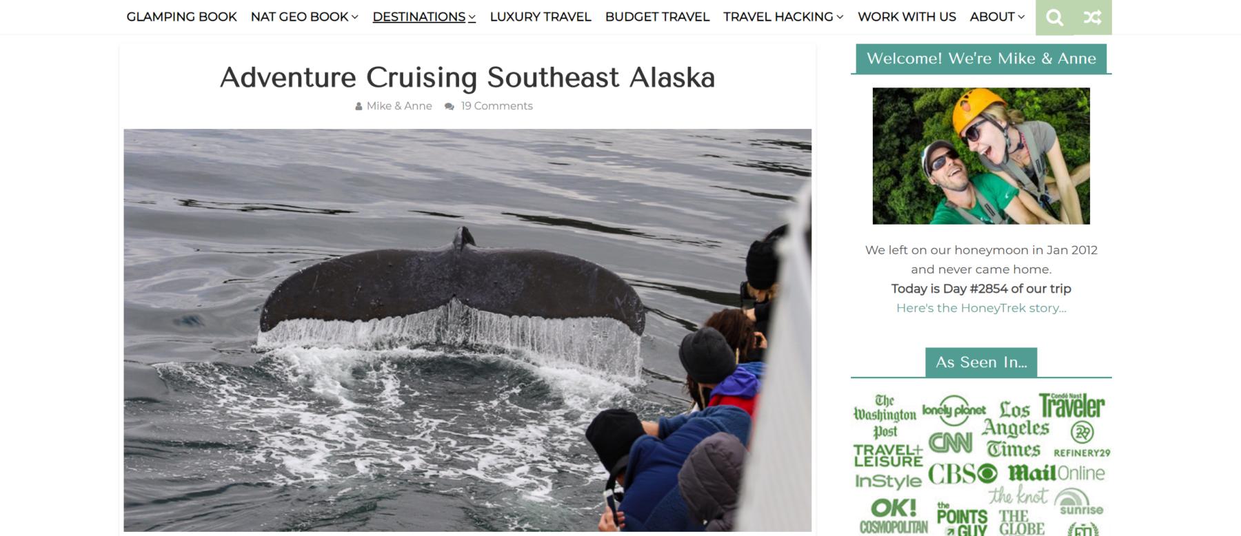 UnCruise Alaska Blog