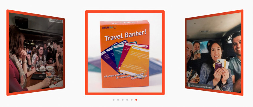 travel card game
