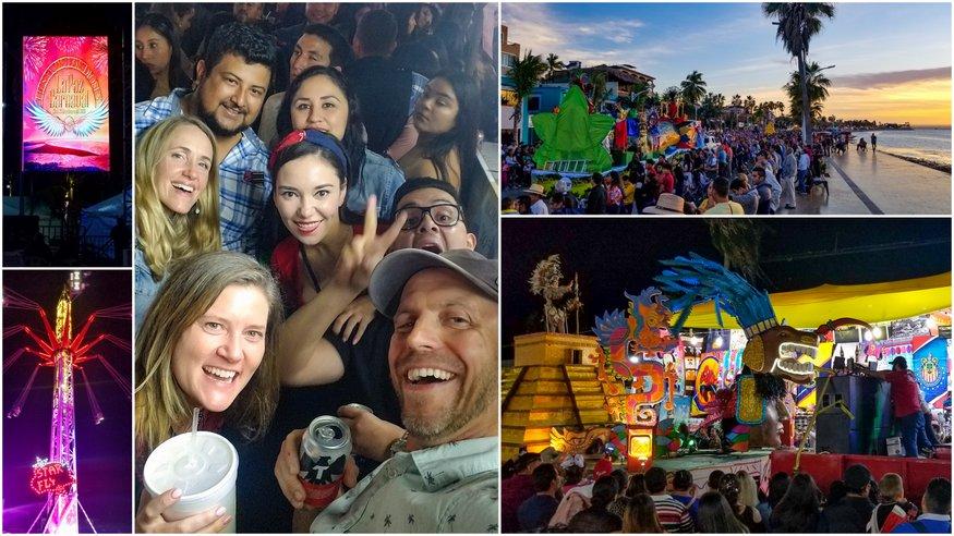 La Paz Mexico Carnaval