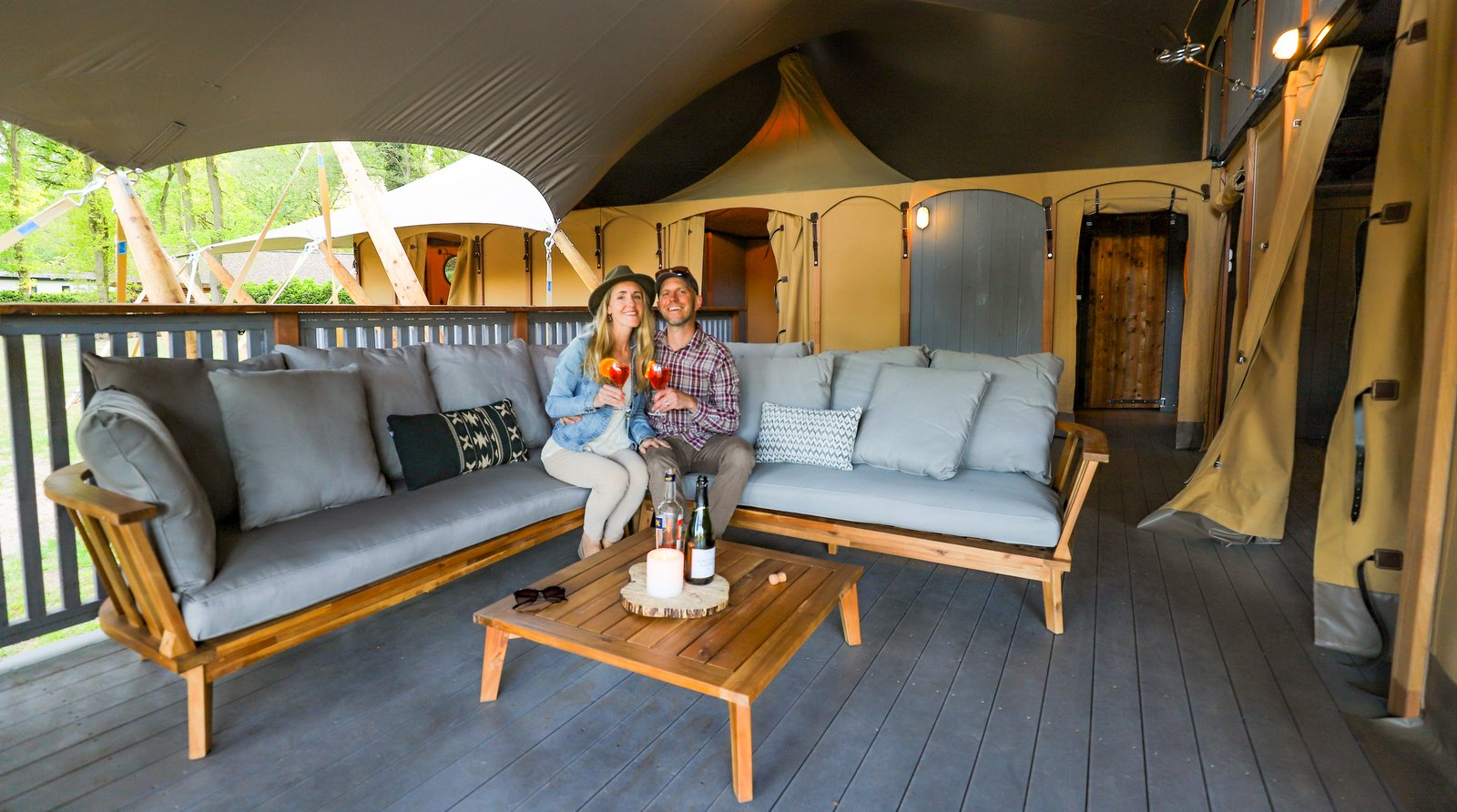 Work With The Glamping Experts