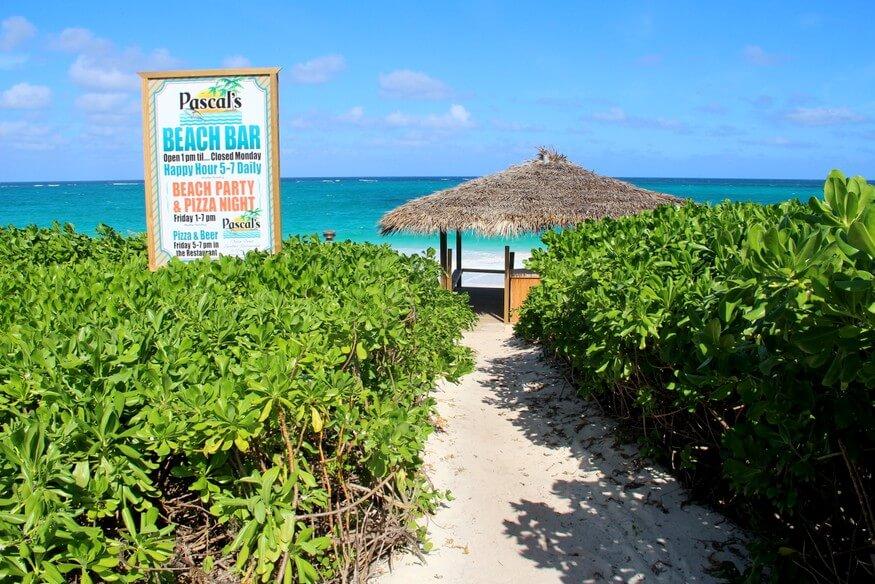 Pascals restaurant at Sky BeachClub