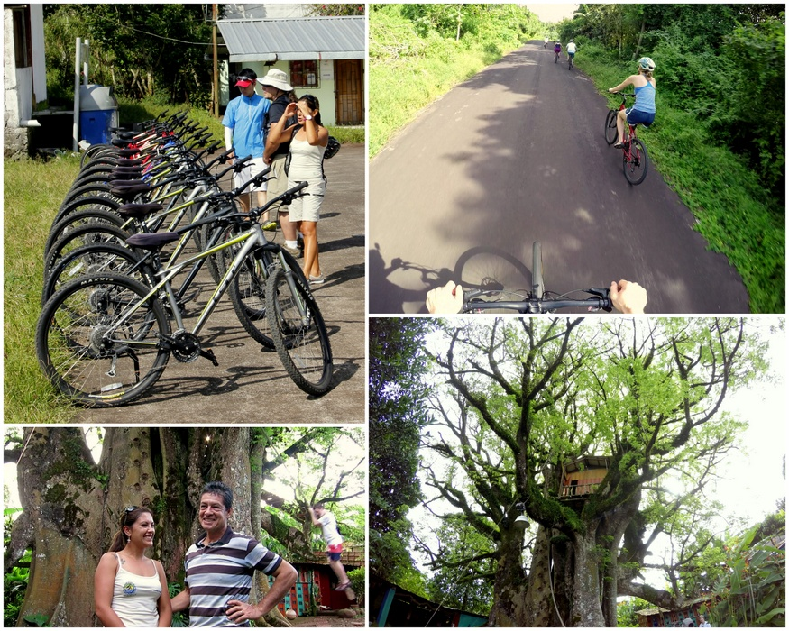 Biking the Galapagos
