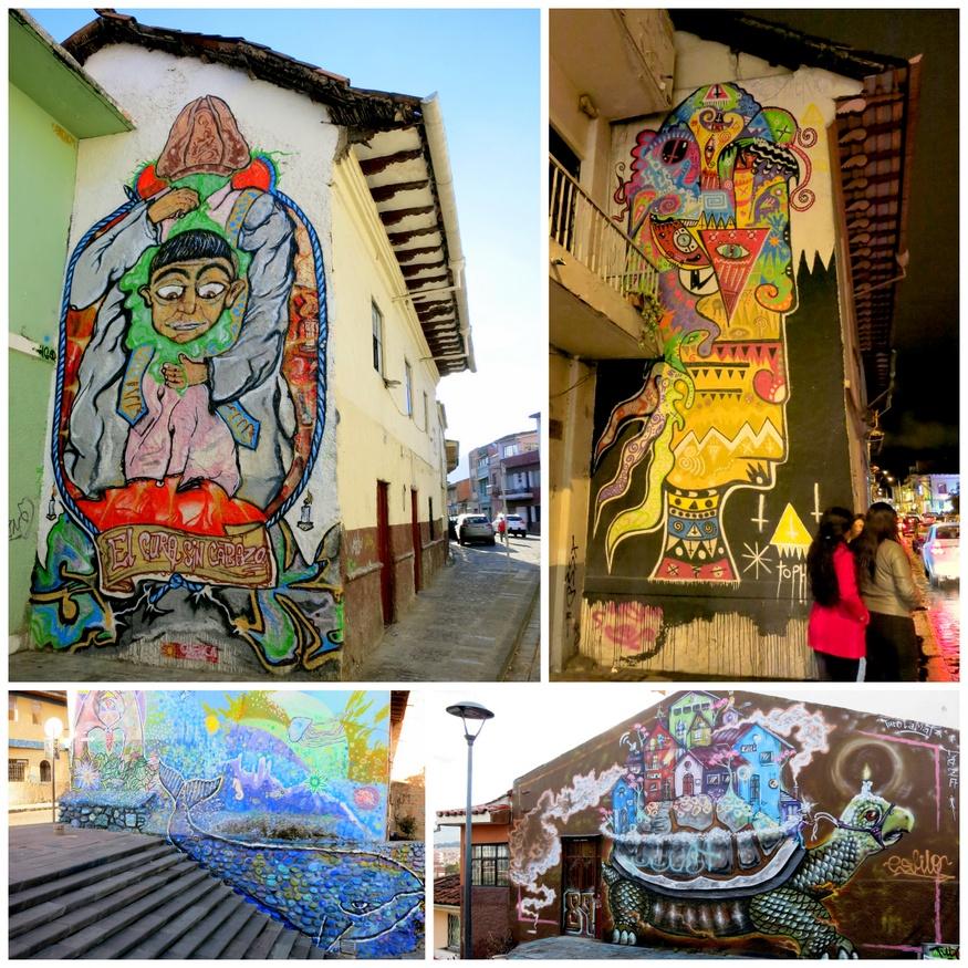 Graffiti art in Cuenca