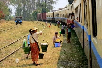 Hsipaw Myanmar train
