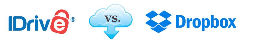 IDrive vs. Dropbox