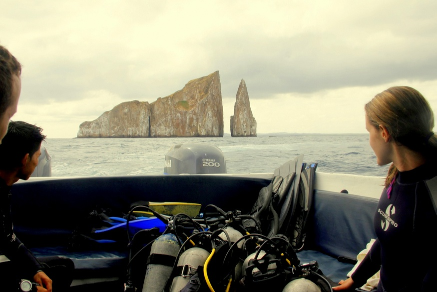 Scuba Diving Kicker Rock
