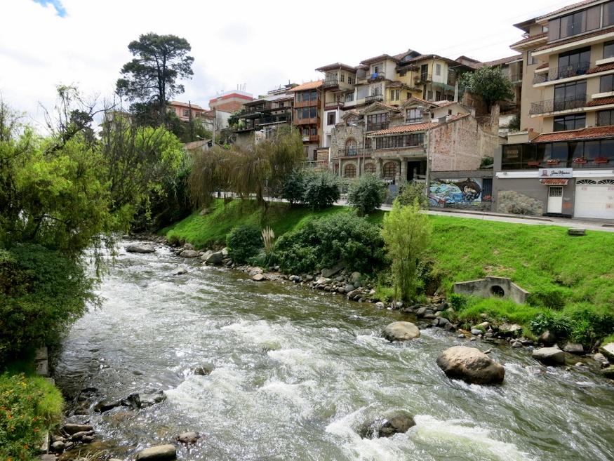 Tomebamba river, Cuenca