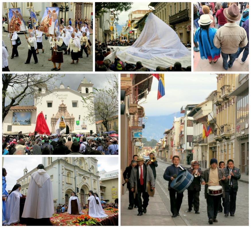 Virgen del Carmen festival Cuenca